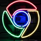 "Brand New Google Chrome Logo Beer Bar Pub Neon Light Sign 16""x16"" [High Quality]"