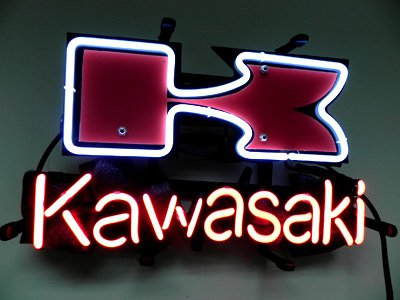 "Brand New KAWASAKI Motor Racing Beer Bar Neon Light Sign 14""x 8"" [High Quality]"