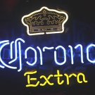 "Brand New Corona Extra Crown enjoy Beer Neon Light Sign 16""x 15"" [High Quality]"