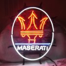 "Brand New Maserati Ferarri Auto Beer Bar Neon Light Sign 16""x 16"" [High Quality]"