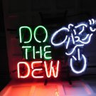 "Brand New Mountain Dew - Do the Dew Soda Beer Neon Pub Light Sign 24""x 17"""