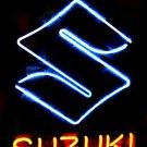 "Brand New SUZUKI Auto Racing Neon Light Sign 16""x 15"" [High Quality]"
