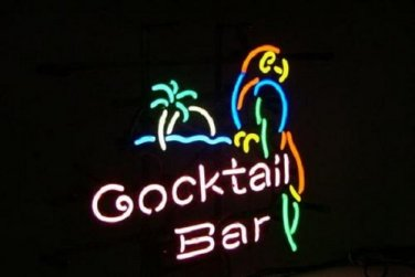 "Brand New enjoy Bar Neon Sign - Cocktail Bar 16""x 15"" [High Quality]"