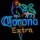 "Brand New CORONA Extra Parrot Beer Bar Neon Light Sign 17""x14"" High Quality"