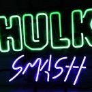 "Brand New Hulk Smash Marvel Studio Neon Light Pub Sign 16""x 13"" [High Quality]"