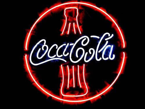 """Brand New Coca Cola Bar Neon Sign Coke Soda Neon Light Sign 16""""x 16"""""""