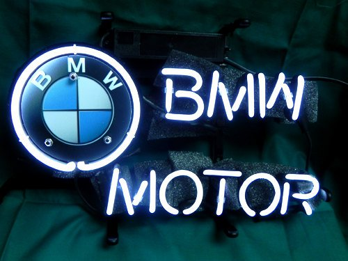 "Brand New BMW Car Racing Neon Light Sign 14""x 8"" [High Quality]"