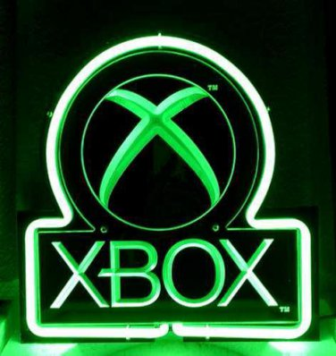"Brand New Xbox 3D Acrylic Beer Bar Pub Neon Light Sign 10""x8"" [High Quality]"