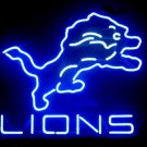 "Brand New NFL Detroit Lions Neon Light Sign 16""x 15"" - [High Quality]"