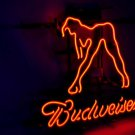 "Brand New Budweiser Sex Girls Beer Bar Real Glass Tube Neon Light Sign 16""x15"" [High Quality]"