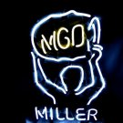 "Brand New MILLER MGD Championship Beer Bar Neon Light Sign 16""x 12"" [High Quality]"