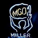 "Brand New MILLER MGD Championship Beer Bar Neon Light Sign 16""x 12"" [High Quality]"