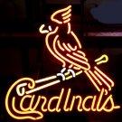 "Brand New St. Louis Cardinals Baseball Neon Light Sign 16""x 14"" [High Quality]"