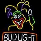 """Brand New Clown Man Logo Bud Light Beer Bar Neon Light Sign 18""""x 16"""""""