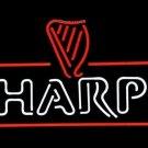 """Brand New Harp Lager Guinness Logo Beer Bar Neon Light Sign 18""""x 16"""" [High Quality]"""