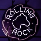 "Rolling Rock Horse Head Logo Neon Light Sign 18""x 16"" [High Quality]"