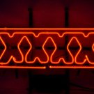 "Brand New XXXX Fourex Aussie Ale Lager Beer Neon Light Sign 18""x 16"" [High Quality]"