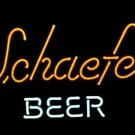 "Brand New Schaefer Beer Logo Beer Neon Light Sign 18""x 16"" [High Quality]"