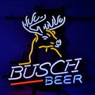 "Brand New Busch Light Deer Budweiser Beer Bar Pub Neon Light Sign 16"" x15"" [High Quality]"