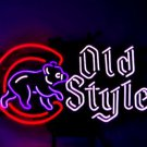 "New MLB Chicago Cubs Old Style Neon Light Sign 17""x 12"" [High Quality]"