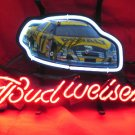 "Brand New New Budweiser Nascar #17 Car Racing Beer Bar Neon Light Sign 13""x 8"" [High Quality]"