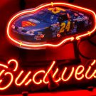 "New Budweiser Nascar #24 Car Racing Beer Bar Neon Light Sign 13""x 8"" [High Quality]"