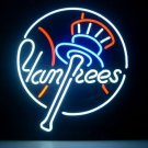 "Brand New MLB New York Yankees Pub Neon Light Sign 16""x 16"" [High Quality]"