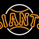 "Brand New MLB San Francisco Giants Baseball Beer Bar Neon Light Sign 17""x 16"" [High Quality]"