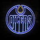 "Brand New NHL Edmonton Oilers Beer Bar Neon Light Sign 18""x 18"" [High Quality]"