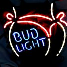 "Brand New BUD LIGHT Brewery Beer Bar Neon Light Sign 15""x14"" [High Quality]"