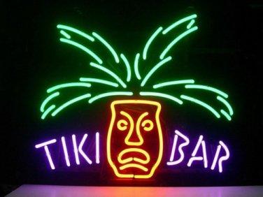 "Brand New Tiki Bar Paradise Palm Beer Bar Neon Light Sign 18""x16"" [High Quality]"