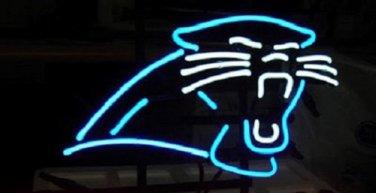 "Brand New NFL Budweiser Carolina Panthers Logo Beer Bar Pub Neon Sign 16""x 14"" [High Quality]"