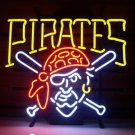 "Brand New Pittsburgh Pirates Beer Bar Neon Light Sign 18""x16""  [High Quality]"