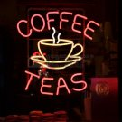 "Brand New Coffee Tea Cup Beer Bar Neon Pub Light Sign 16""x14"" [High Quality]"