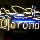 "Brand New Corona Extra AirPlane Brewery Beer Bar Neon Light Sign 17""x 12"" [High Quality]"