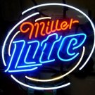 "Brand New MILLER LITE Logo Beer Bar Neon Light Sign 16""x 16"" [High Quality]"