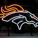 "Brand New Budweiser NFL Denver Bronco Beer Neon Sign 16""x 14"" [High Quality]"