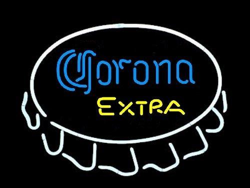 "Brand NewCorona Extra Open Bottle Cap enjoy Beer Bar Neon Light Sign 16""x 14"" [High Quality]"