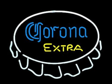 "Brand NewCorona Extra Open Bottle Cap enjoy Beer Bar Neon Light Sign 16""x 14"" [High Quality]"