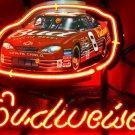 "Brand New Budweiser Nascar #8 Car Racing Neon Light Sign 13""x 8"" [High Quality]"