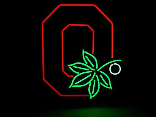 """Brand New Ohio State Buckeyes Beer Neon Light Sign 18""""x 16"""" [High Quality]"""