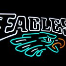 "Brand New Philadelphia Eagles Neon Light Sign 16""x 13"" [High Quality]"