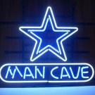 "Brand New NFL Football Dallas Cowboys Man Cave Bar Neon Light Sign 18""x 16"" [High Quality]"