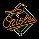 Brand New MLB Baltimore Orioles Baseball Beer Bar Neon Light Sign [High Quality]