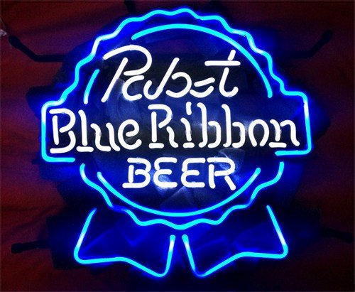 """Brand New Pabst Blue Ribbon Beer Neon Light Sign 16""""x 14"""" [High Quality]"""
