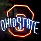 "Brand New NCAA Ohio State Budweiser Neon Sign 17""x 14"" [High Quality]"