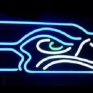 "Brand New Football Seattle Seahawks NFL Beer Bar Neon Light Sign 15""x 10"" [High Quality]"