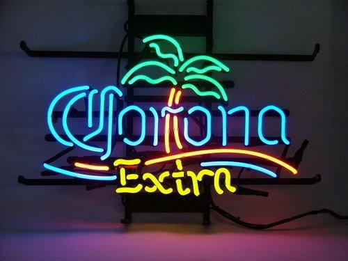 "Brand New CORONA Extra Palm Tree Beer Bar Pub Neon Light Sign 16""x 14"" [High Quality]"