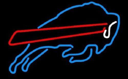 "Brand New NFL New York Buffalo Bills Logo Beer Bar Neon Light Sign 16""x 14"" [High Quality]"