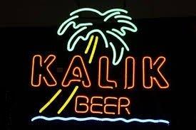 "Brand New KALIK Beer Palm Tree Beer Bar Neon Light Sign 17""x 14"" [High Quality]"